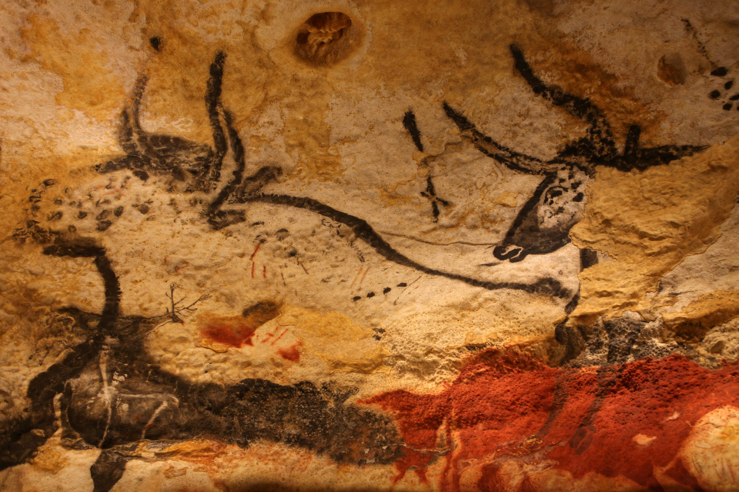 Cavemen of Lascaux | Echoes of a Wind-Swept Tower & the Prehistoric Animal Parade of Their Soul