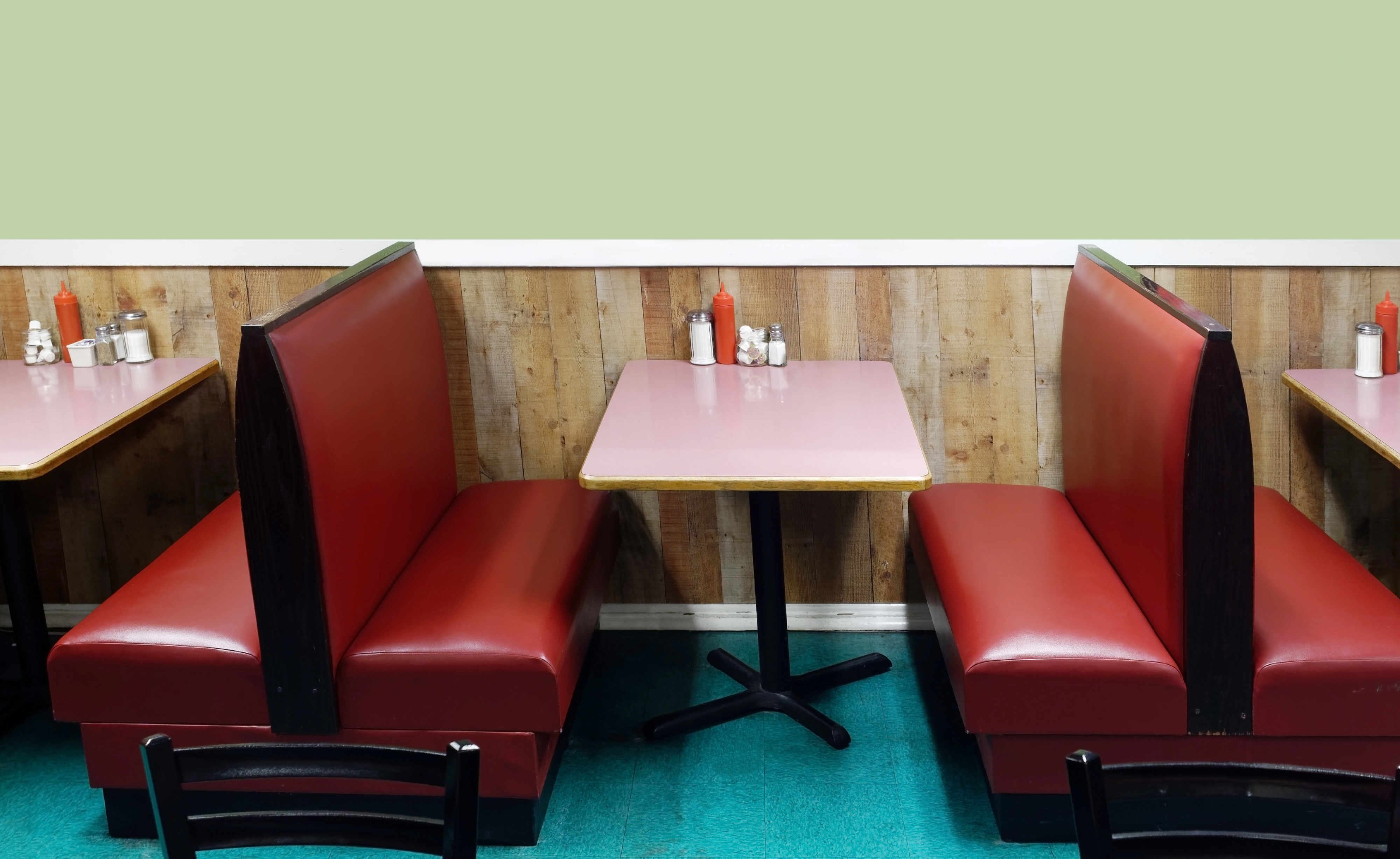 Classic Diner Booths