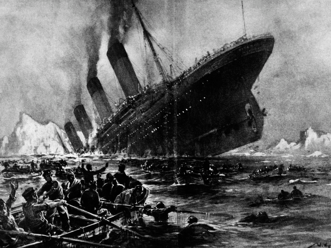 Photos show how the Titanic passengers were rescued - Insider