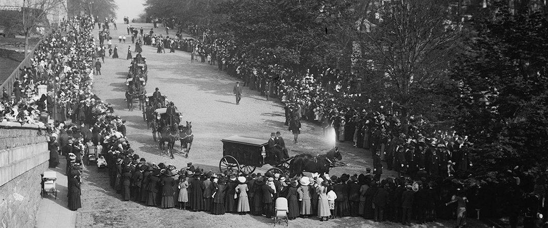 john jacob astor iv funeral