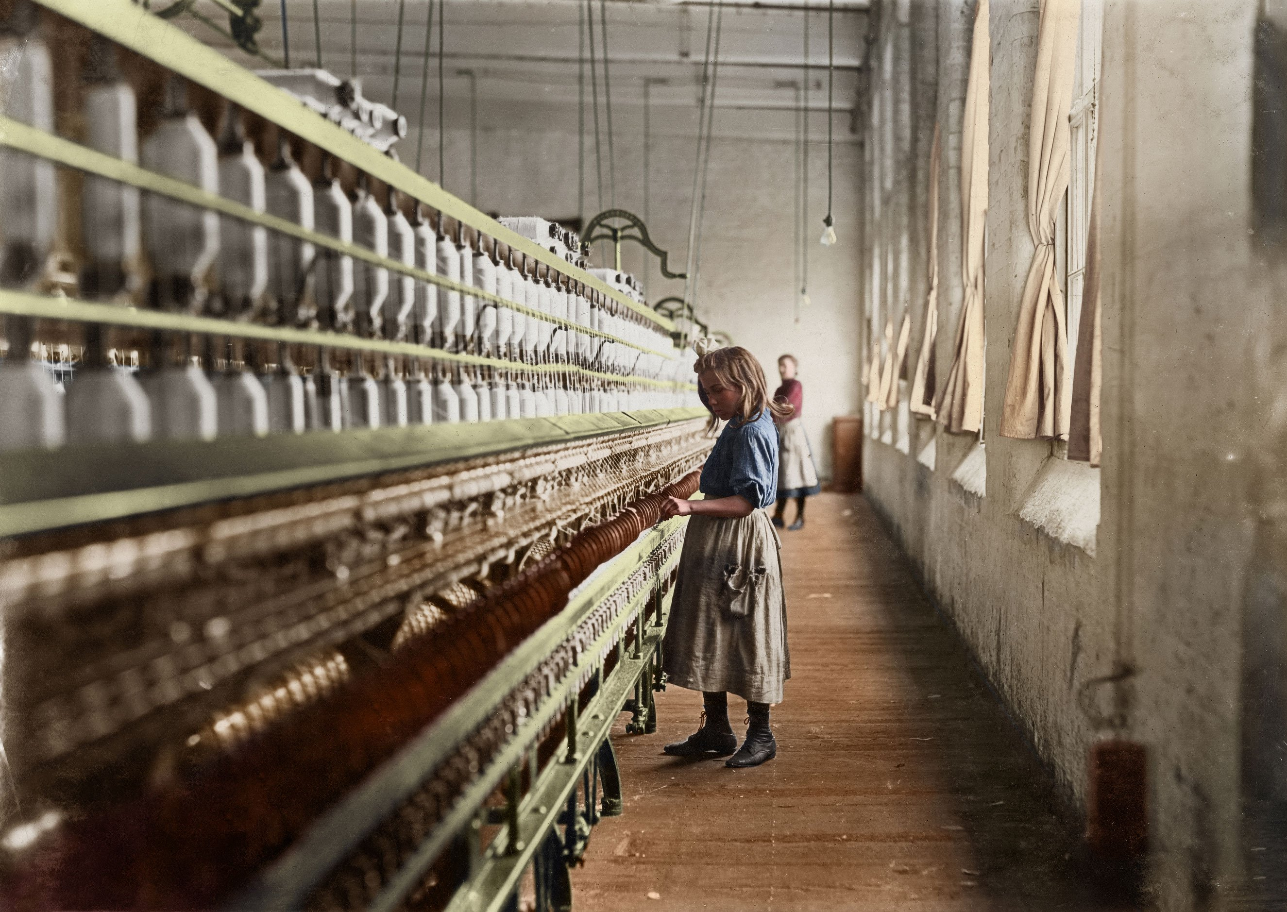 Child Labor: See Lewis Hine's Photos Colorized | Time.com