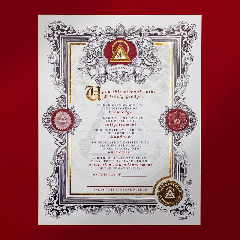 The Eternal Oath of the Illuminati – Illuminatiam