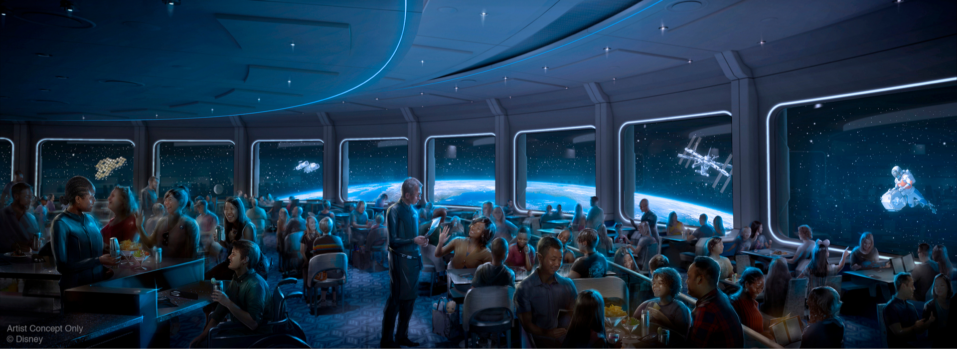 Space 220 Restaurant Now Slated to Open in April at EPCOT - WDW ...