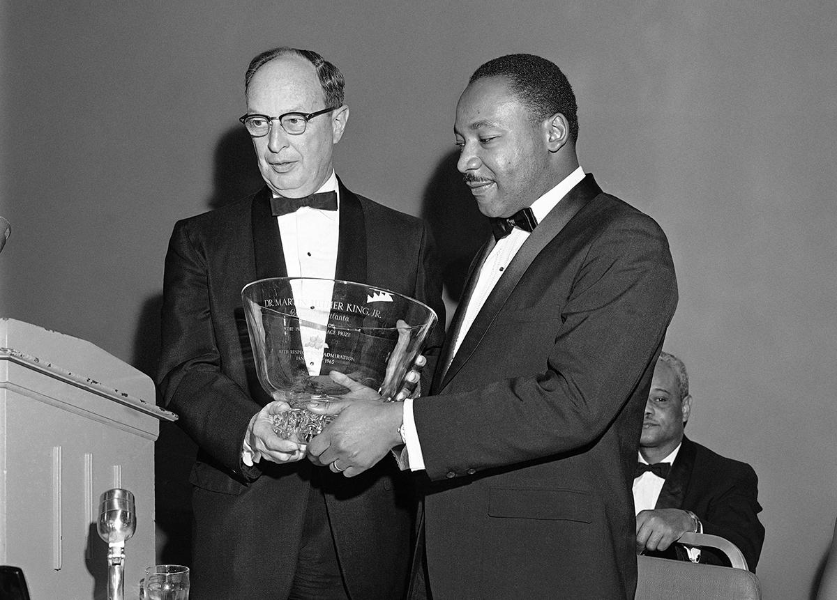 Looking Back At Martin Luther King Jr.'s Nobel Prize Dinner | WABE ...