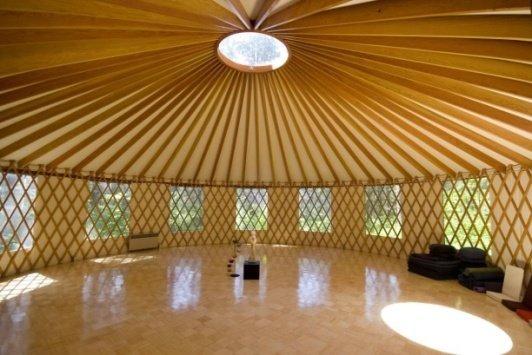 Modern Yurt Structure