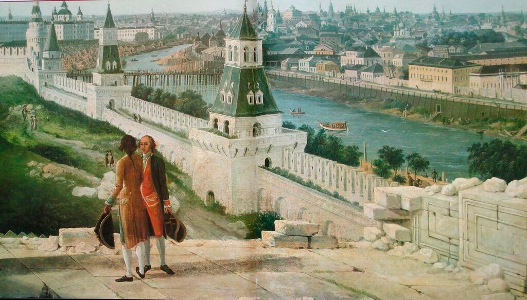 How European artists saw Moscow in the 18th and 19th centuries ...
