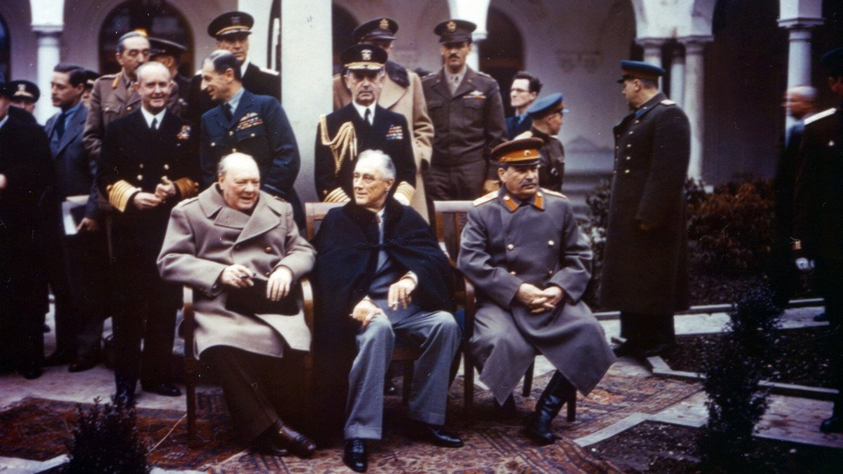 FDR, Churchill and Stalin: Inside Their Uneasy WWII Alliance - HISTORY