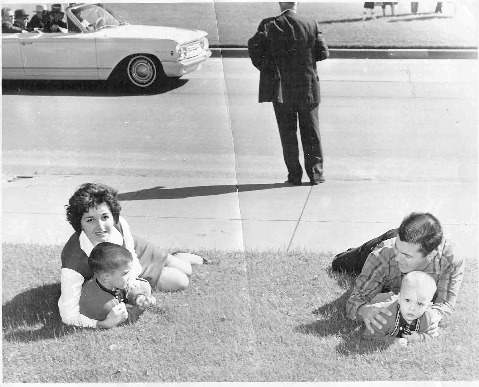 Cancellare's picture of the Newman family.   Jfk, Kennedy assassination, John f kennedy