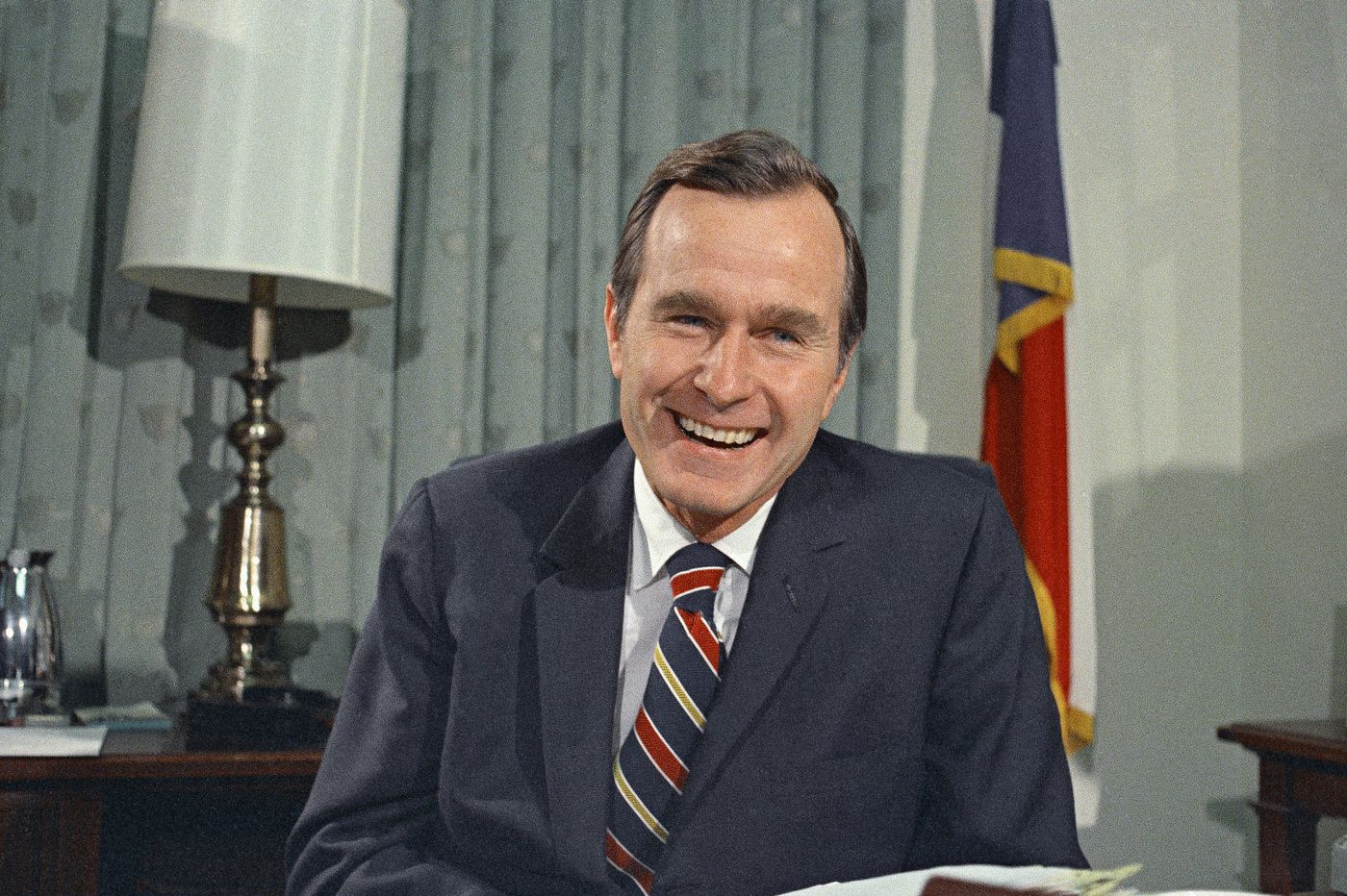 George H.W. Bush, a solid and decent role model, taught me not to gossip | Perspective