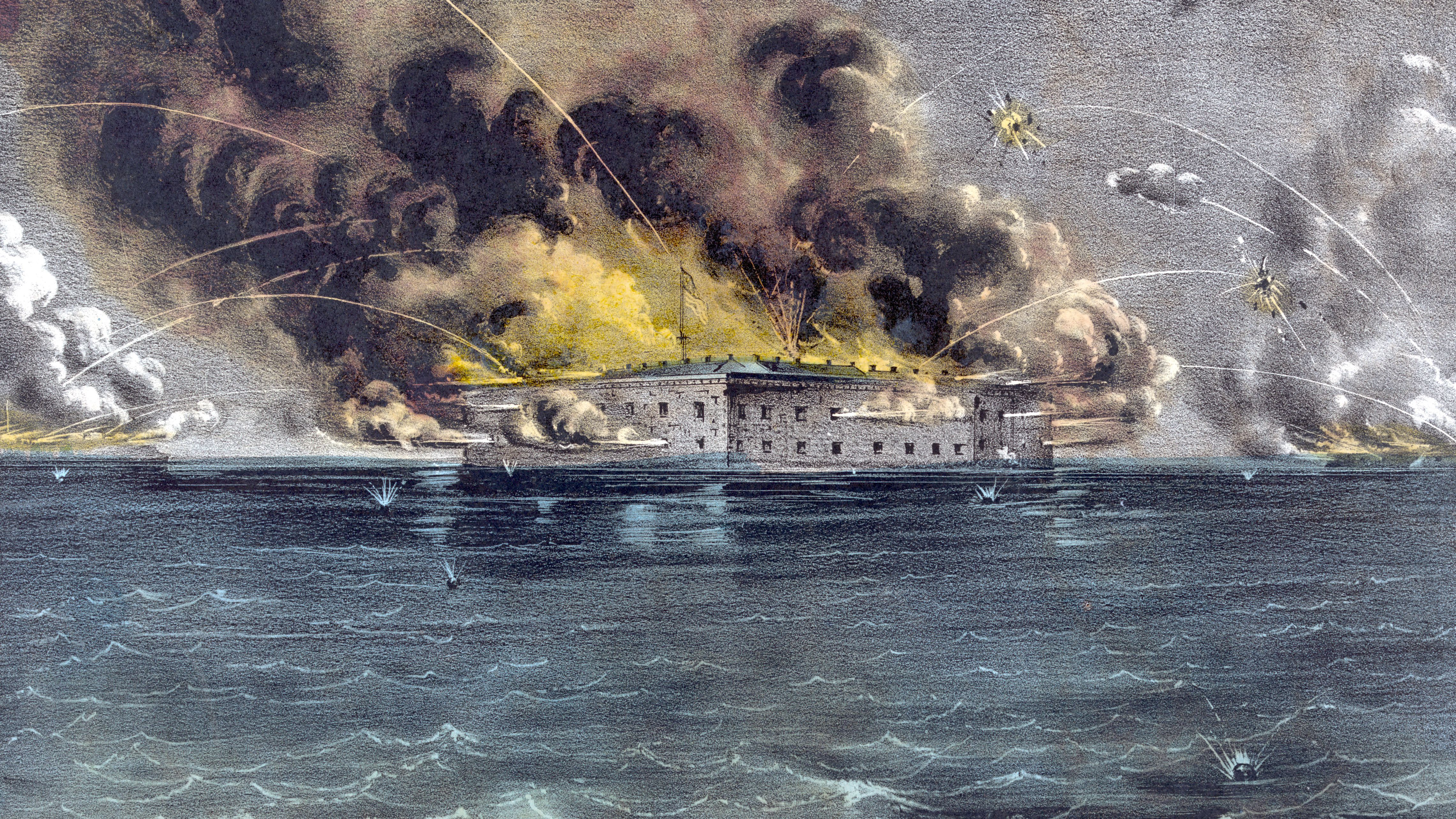 Attack on Fort Sumter Began the Civil War in 1861