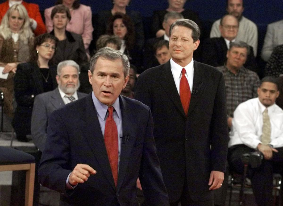 Gov. George W. Bush and Vice President Al Gore | Online | stltoday.com
