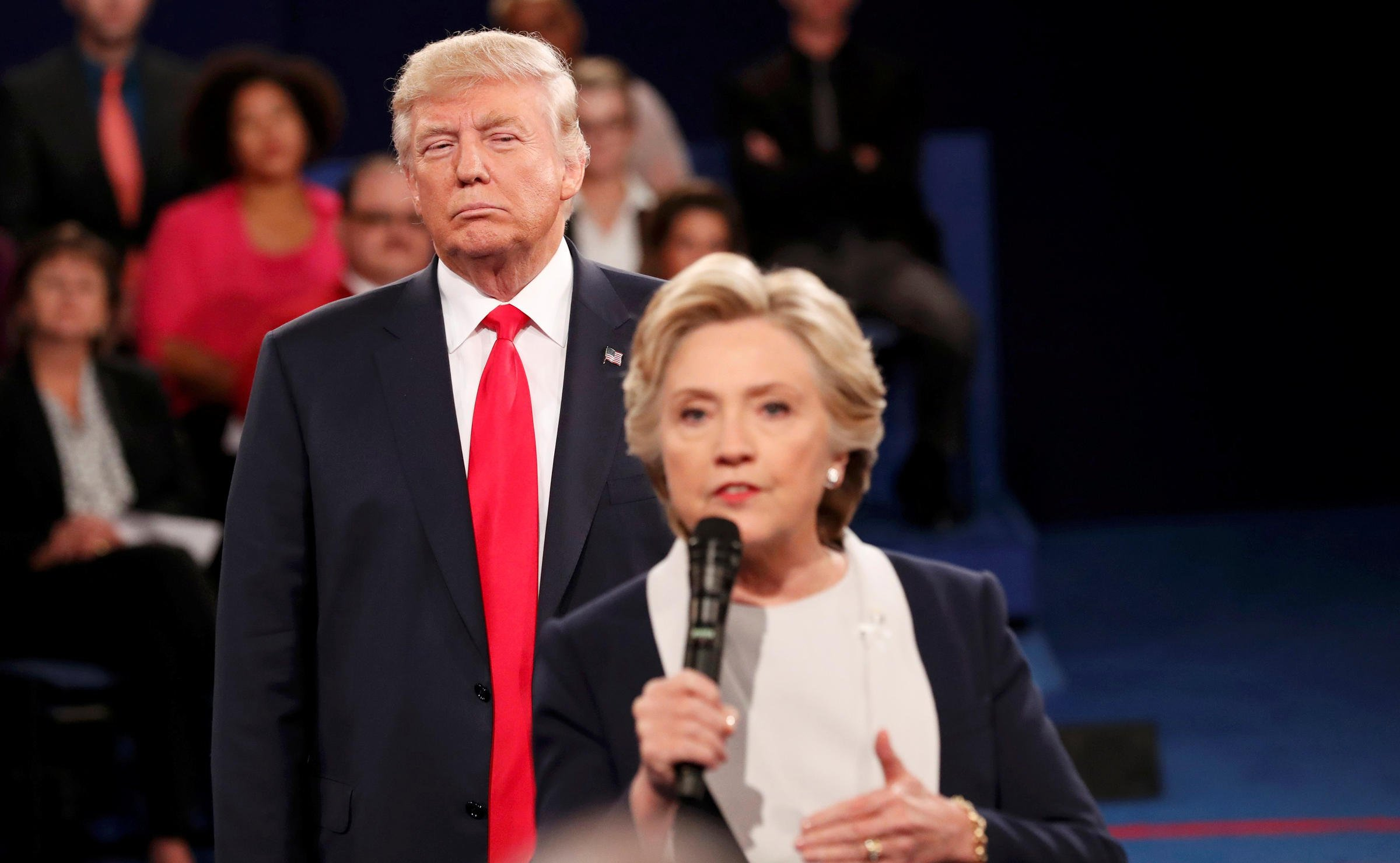 Donald Trump was the man Hillary Clinton needed to win the women's vote | WUNC