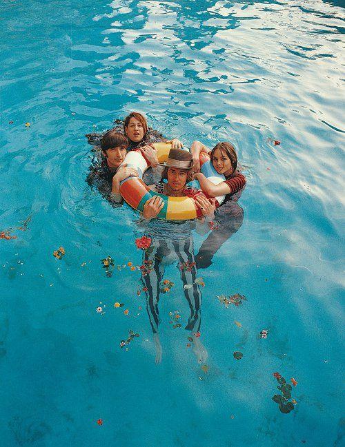 mamas & papas in my pool... | Mamas and papas, Papa, Music