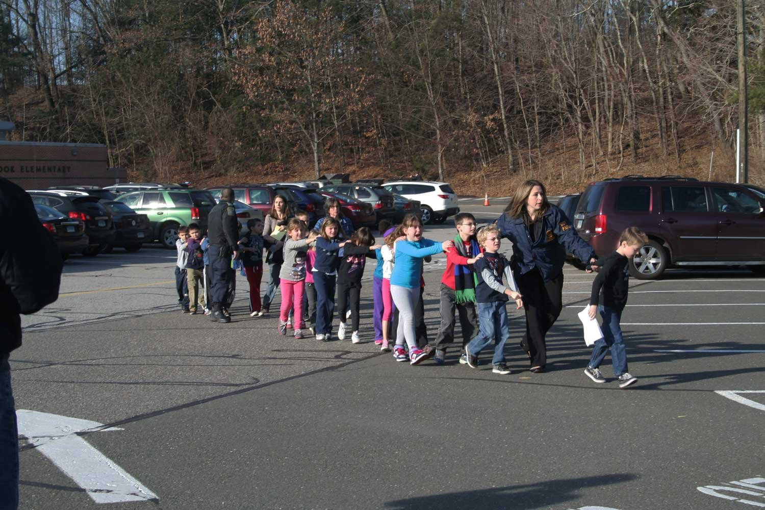 The Story Behind the Iconic Photograph from Sandy Hook | Time.com