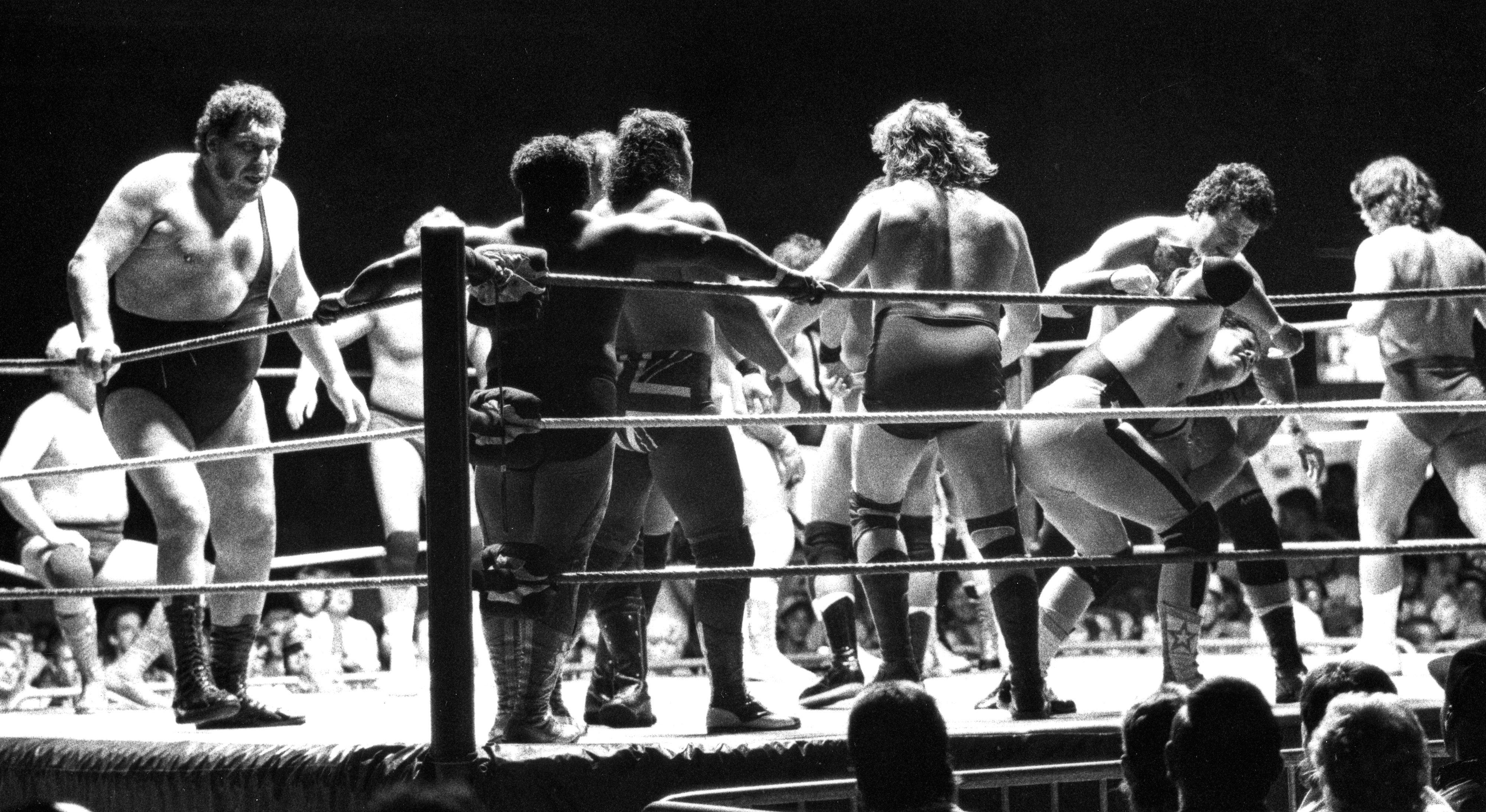 FayWHAT? What happened to the wrestling ring at Cumberland County Memorial Arena? - News - The Fayetteville Observer - Fayetteville, NC