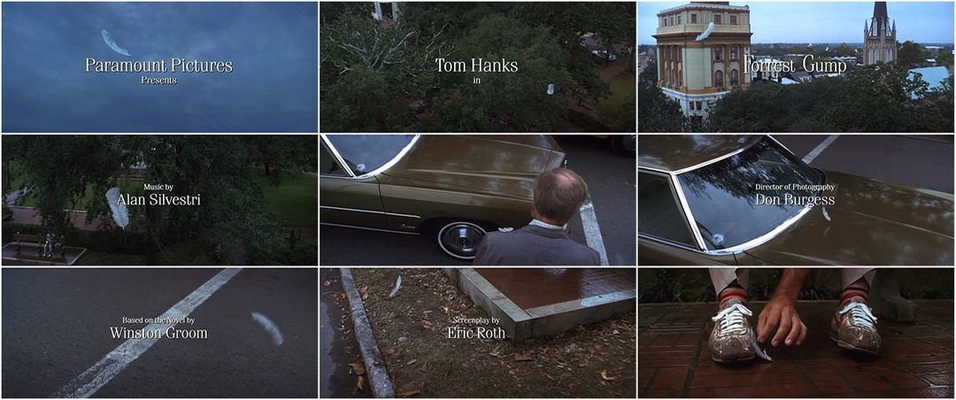 Forrest Gump (1994) — Art of the Title