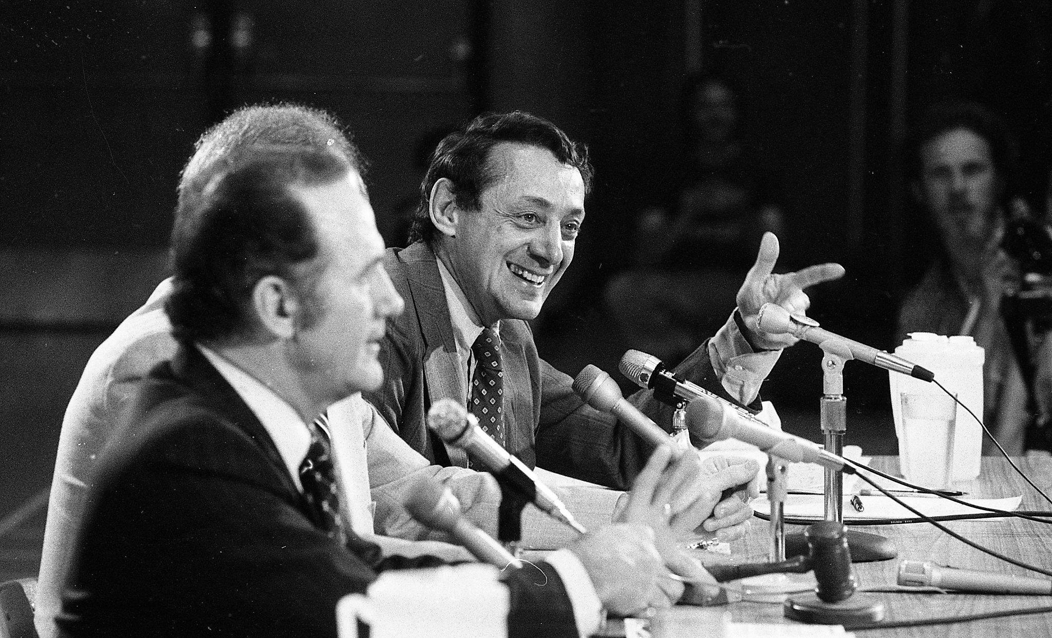 Harvey Milk's last fight: Found photos from landmark debate over gay teachers - SFChronicle.com