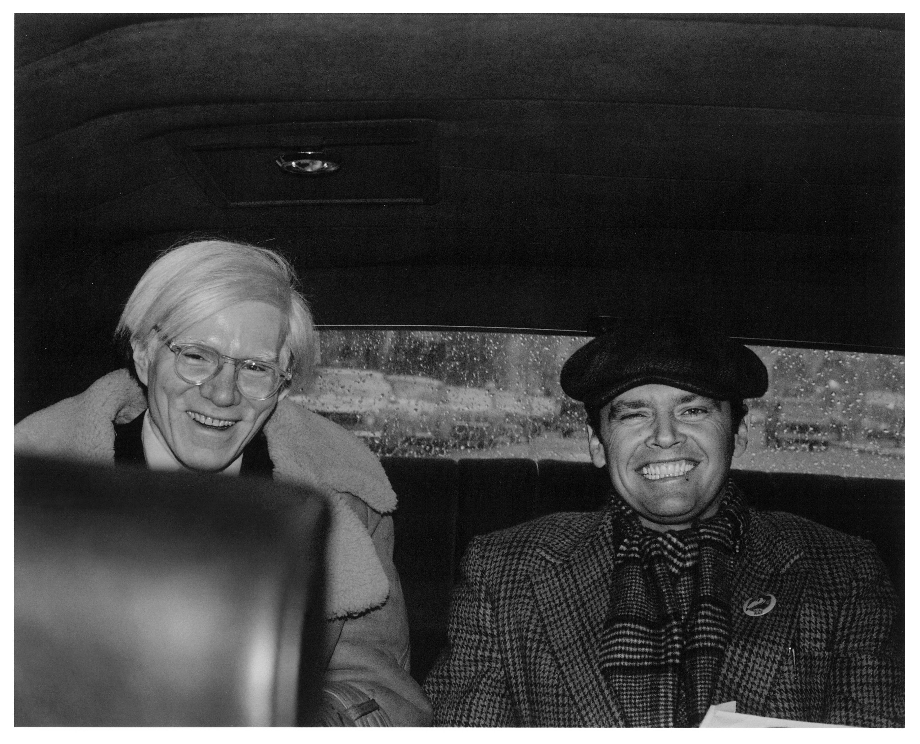 Andy Warhol and Jack Nicholson, by Pat Hackett (With images ...