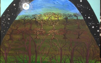 Creation Pen and Brush: Let There Be Lights in the Firmament