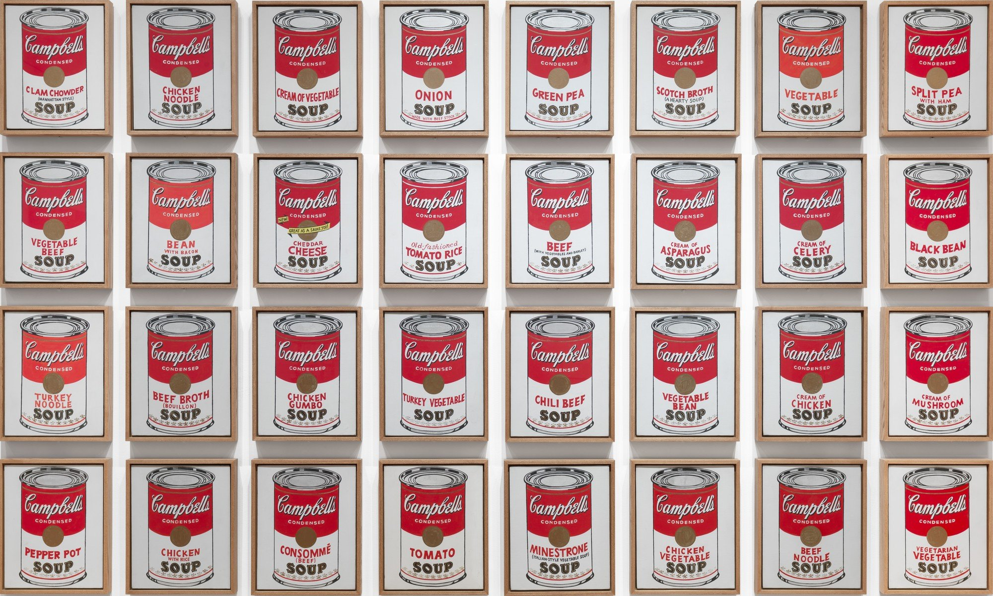 Andy Warhol. Campbell's Soup Cans. 1962 | MoMA